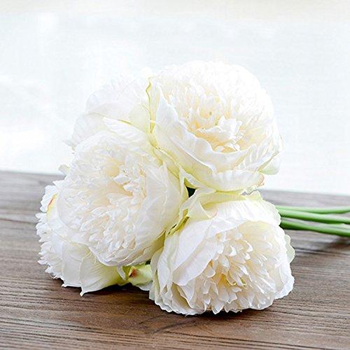 Artificial Fake Silk Daisy Flower Bouquet 1Bunch Green - 8