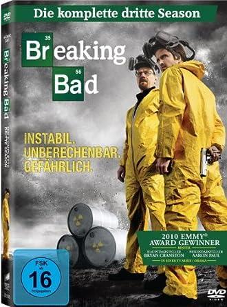 Breaking Bad Die Komplette Dritte Season 4 Dvds Amazonde