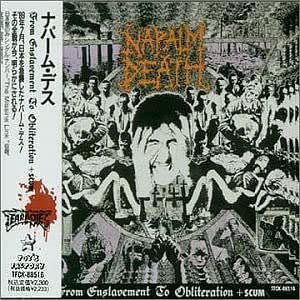 Napalm Death From Enslavement To Obliteration Scum