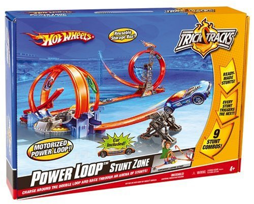 mattel hot wheels power loop stunt zone buy online in. Black Bedroom Furniture Sets. Home Design Ideas