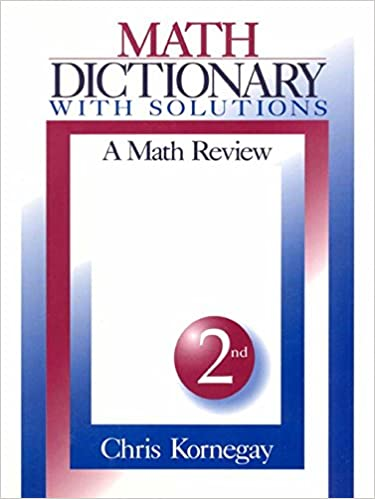 Maths Dictionary Ebook