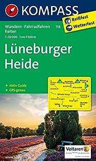 Lüneburger Heide Wilseder Berg Wanderkarte Mit Ausflugszielen Und