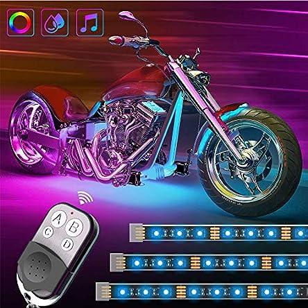 Govee RGB Motorcycle LED Lights Kits, 8 Pcs Neon Lights...