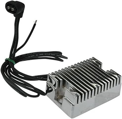Amazon.com: New CHROME Voltage Regulator Rectifier Replacement For Harley  Davidson 74519-88, 1989-99 Evolution Big Twin, 32 AMP: Automotive | Twin Cam Harley Voltage Reg Wiring Schematic |  | Amazon.com