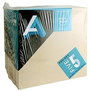 Art Alternatives Wood Panel Super Value Gallery 8x8 Pack of 5
