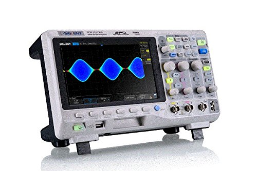 Dual Channel Oscilloscope (Siglent Technologies SDS1102X LCD Digital Oscilloscope, 100 MHz)
