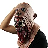 Scary-Evil-Clown-MaskDouble-Face-Latex-Rubber-Mask-by-MonstleoHalloween-Costume-Party-Mask-for-MasqueradeBirthday-PartiesCarnival-Decorations