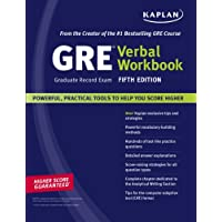 Kaplan GRE Exam Verbal Workbook, Fifth Edition