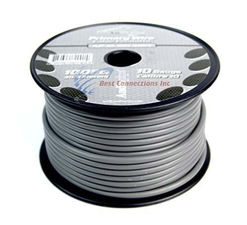 10 GA GAUGE 100 FT SPOOLS PRIMARY AUTO REMOTE POWER GROUND WIRE CABLE (3 ROLLS) by Audiopipe (Image #7)