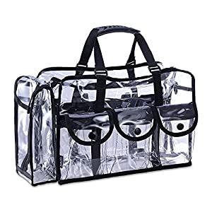 Mua Limited Makeup Artist Storage Bag Clear Cosmetic Bag
