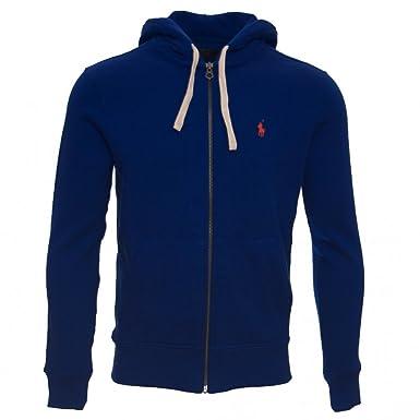d544a057b Ralph Lauren mens classic athletic fleece full zip hooded sweatshirt ...