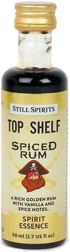 Still Spirits - Estante superior de ron especiado (50 ml, aroma a esencia de 2,25 L)