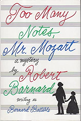 book cover of Too Many Notes, Mr. Mozart