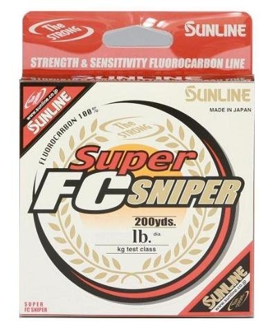 Sunline 63038900 Super FC Sniper 2 Lb. Super FC Sniper, Natural Clear, 200 yd
