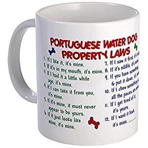 CafePress Portuguese Water Dog Property Laws 2 Mug Unique Coffee Mug, Coffee Cup 15