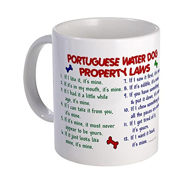 CafePress Portuguese Water Dog Property Laws 2 Mug Unique Coffee Mug, Coffee Cup 1