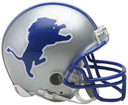 Sports Memorabilia Riddell Detroit Lions Throwback 1983-2002 VSR4 Mini Football Helmet - NFL Mini Helmets ()