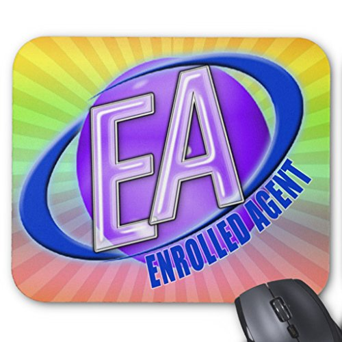 Zazzle Ea Orb Swoosh Logo - Enrolled Agent Mouse Pad ()