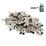 Zimo 50pcs Jagwire Bike 5mm Brake Cable Housing Ferrule End Caps