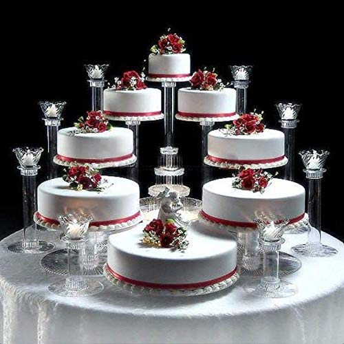 Amazon.| 8 Tier Cascade Wedding Cake Stand (STYLE R800