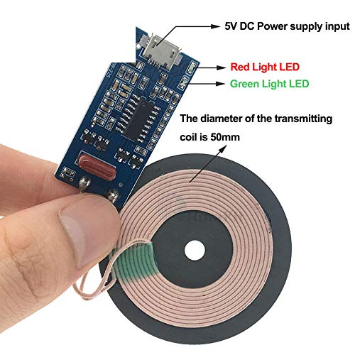 Wireless Power Supply Charging 5W Transmitter Quick Charge Universal Micro USB
