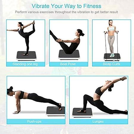 Amazon.com: EveryMile Vibration Plate Exercise Machine,3D ...