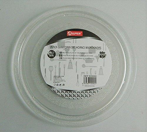 Plato giratorio de cristal para microondas LG con 3 muescas ...