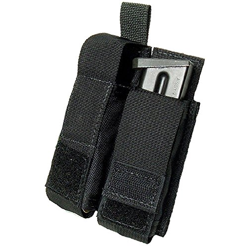 Enhanced Pistol Mag Pouch - Tactical Assault Gear Duty Enhanced Double Pistol Mag Pouch