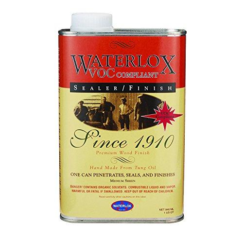 (Waterlox Original Sealer Finish, 350 VOC, Quart)