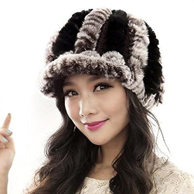 Usstore Women's Handmade Winter Keep Warm Caps Female Headgear Cap