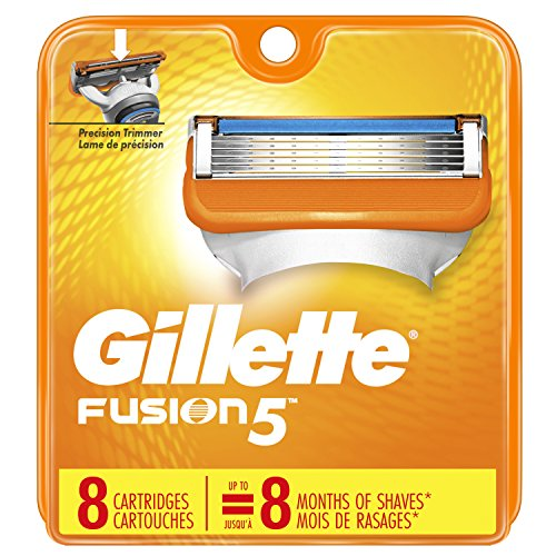 Gillette Fusion Cartridges (Gillette Fusion 5 Power Cartridges 8 ea (Packaging May Vary))