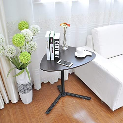 Lounge Adjustable Mobile Chaise - Anewoneson Mobile Nesting Coffee Table Height Adjustable End Table/Laptop Desk/Snack Tray/Bed Side for Living Room/Bedroom/Balcony/Home Office (Shipped from USA)