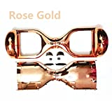 YAVOCOS Rose Gold 6.5 inch Chrome Outer Plastic Cover Case Shell Replacement Smart Self Balance Wheel Balancing Electric Scooter Spare Parts