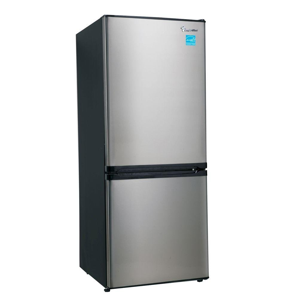 Superbe Amazon.com: Magic Chef 9.2 Cu. Ft. 23.8 In. Wide Bottom Freezer  Refrigerator In Stainless: Appliances