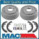 Mac Auto Parts 20766 1997-1999 Ford F150 5 Std Brake Drums & Brake Shoes 12MM Studs