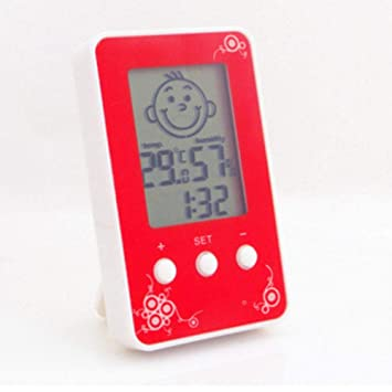 Lanlan Medidor de Humedad y Temperatura, termómetro digital preciso con higrómetro digital de 30 cm