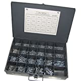 Phillips Flat Head Wood Screw Assortment - 1475 Pieces