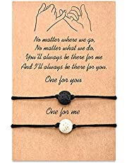 Tarsus Pinky Pomise Matching Relationship Bracelets for Best Friends Couple Family