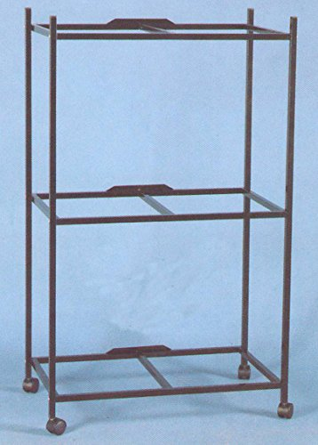 3-Shelves Stand for 30'' x 18 x 18''H Cages, Black by Mcage