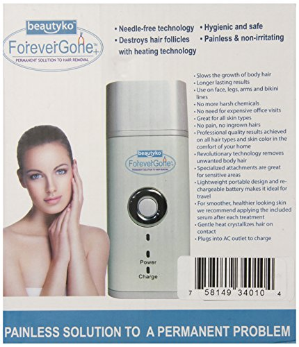 Forever Gone Sivan Pain Free Complete Hair Removal System ...
