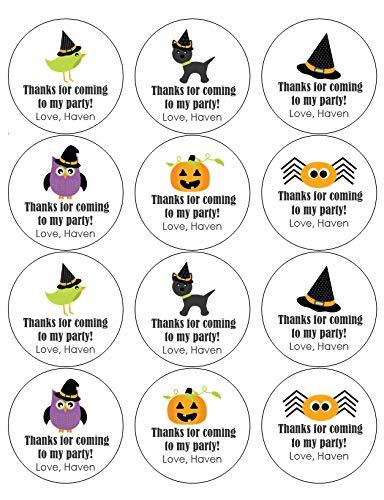 Halloween Mix Stickers Set of 12