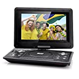 10.1 Inch LCD Portable DVD Player - Gaming, Copy Function, 270 Degree Swivel Rotation, 1024x768 Resolution