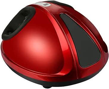 Hidromasaje para pies Máquina de masajeador de pies, fisioterapia infrarroja, estrés y fatiga, para uso en el hogar o en la oficina (Color : Red): Amazon.es: Salud y cuidado personal