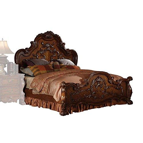 ACME 12134CK-SET Dresden 4-Piece Bed Set, Cherry Oak Finish