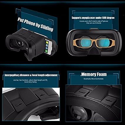 e83360fa52c Photron VR BOX 2.0 Virtual Reality Glasses