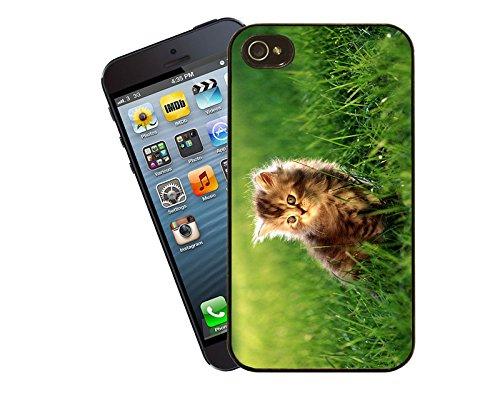 Katze 035 iPhone Fall - passen diese Abdeckung Apple Modell iPhone 4 / 4 s - von Eclipse-Geschenk-Ideen