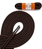 OrthoStep Round Athletic Brown 36 inch Shoelaces 2 Pair Pack