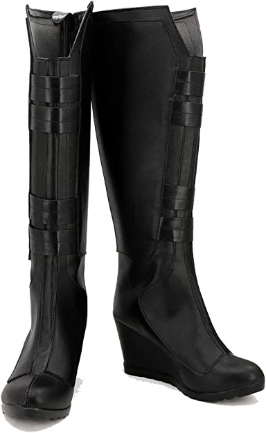Avengers Black Widow Boots Cospaly