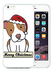 Hot Sell Design iPhone 6 Plus Case,Christmas Dog White iPhone 6 Plus 5.5 TPU Case 35