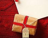 100 Pack Brown Kraft Paper Christmas Gift